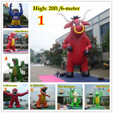 25'ft 7.6M Inflatable Advertising Giant Monster Gorilla Buddy Crocodile w Blower