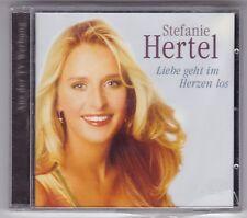 STEFANIE HERTEL-LIEBE GEHT IM HERZEN LOS CD ALBUM 2000 NEU! & OVP!