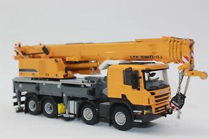 Wsi 04-1169 Liebherr Ltf 1060 4.1 Scania Autokran 1:50 Neuf Emballage Scellé