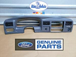 1999-2004 Ford Excursion Dash Bezel Speedometer Trim Panel Eddie Bauer GRAY