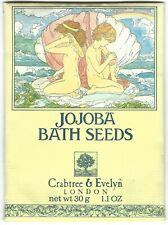 Crabtree & Evelyn JOJOBA BATH SEEDS 1 Packet 1.1 oz 1983 VINTAGE NIP soap oil