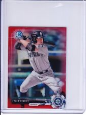 2017 Bowman Chrome Mini RED REFRACTOR #BCP24 Tyler O'Neill (06/10) Mariners