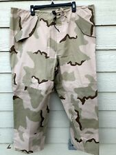 USGI ECWCS GORE-TEX COLD WEATHER DESERT CAMOUFALGE PANTS - X-LARGE REGULAR