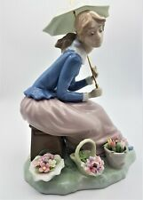 More details for nao by lladro figurine flowers from my garden 0419 boxed