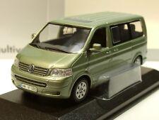 Minichamps VW T5 Multivan, 2003 light green - dealer model - 1/43