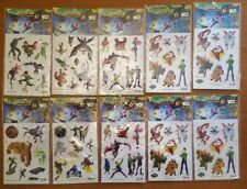 Star Collection 10 BUSTE BEN 10 ALIEN FORCE DECO 3D Transfer Collection NUOVI