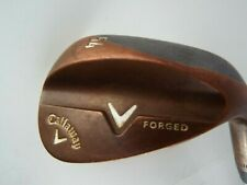 CALLAWAY V FORGED COPPER 54* WEDGE GOLF CLUB STEEL GOOD GRIP RH