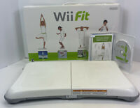 Wii Fit Balance Board Nintendo Exercise Fitness Controller With Game Tested