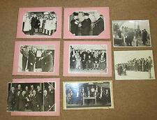 11 WW2 OFFICIAL BRITISH PRESS PHOTOGRAPHS - Blackpool Gazette, 1944 - Lord Derby
