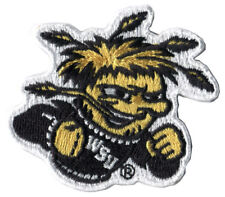"WSU WICHITA STATE SHOCKERS NCAA COLLEGE OFFICIAL 2.5"" LOGO PATCH BRAND NEW"