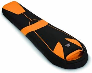 lestra Tundra Schlafsack TRAIL Serie Steppdeckenschlafsack mit Kapuze 95cm breit