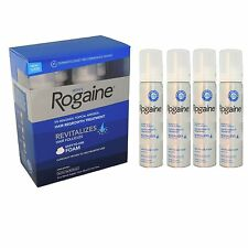 Rogaine/Regaine Men's Hair Loss Treatment  Minoxidil 5% Foam 4 Months SEALED BOX