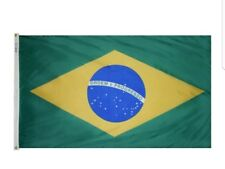 New Nylon 3'x5' Brazilian Flag the Brazil National Flag 90*150cm, Annin Brand