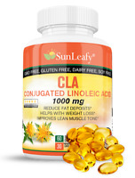 CLA 1000mg  Conjugated Linoleic Acid Improves Lean Muscle Tone  Fast Weight Loss