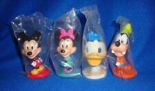 Disney Mini Bobblehead Set of Four Sealed in Bags