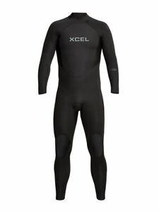 XCel Axis Mens 4/3mm Neoprene Back Zip Full Wetsuit