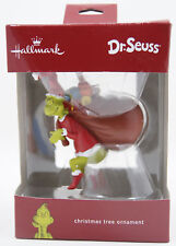 2017 Hallmark DR SEUSS THE GRINCH  Ornament New in Box