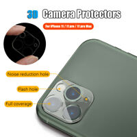 Protector Tempered Glass Lens Caps 3D Protective Film For iPhone 11/11 Pro/Max