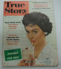 True Story Magazine Wild Prom Night Salads For Men July 1958 062915R