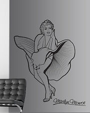 Marilyn monroe autocollant mural/autocollant transfert decor/vinyle graphique pochoir