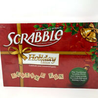 Scrabble Christmas Holiday Edition Board Game NEW Sealed RARE Out of Production