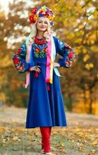 Ukrainian Embroidered Dress Vyshyvanka embroidery