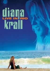 Diana Krall: Live in Rio DVD Authentic US Issue Excellent