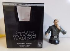 Gentle Giant Star Wars Bust Admiral Motti 2012 Convention Exclusive 840/1200