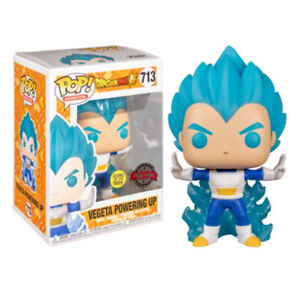 Funko Pop #713 Dragon Ball Super Vegeta Powering Up Glow in the Dark Special Ed.