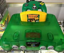 Nintendo 64 Jungle Green Console (NTSC)
