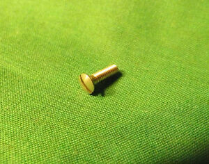 4 NOS Garcia Mitchell 302 303 402 403 FISHING REEL Cover Plate Screws 81344