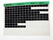 Honda CBR 600_1996 Microfilm Microfich Teilekatalog Ersatzteil Fiche Parts List