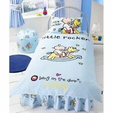 "HOUSSE DE COUETTE TAIE ""BANG ON THE DOOR"" little Rocker"