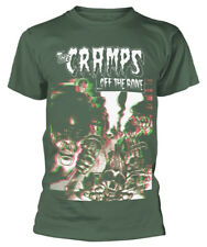 The Cramps 'Off The Bone' (Green) T-Shirt - NEW & OFFICIAL!