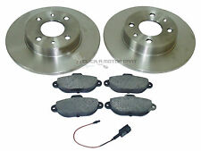 FIAT 500 1.2 SPORT POP LOUNGE 07-15 FRONT 2 BRAKE DISCS & PADS CHECK SOLID TYPE