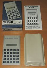 Calcolatrice Texas Instruments TI-501 - Funzionante