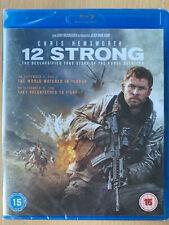 12 Strong Blu-ray 2012 True Life Afghanistan War Horse Soldiers Movie BNIB