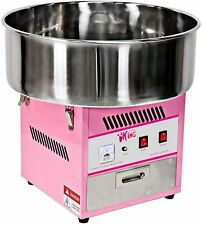 More details for royal catering commercial party candy floss machine pink 52 cm 1200 w steel