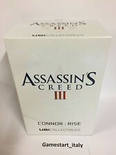 ASSASSIN'S CREED 3 III STATUA CONNOR RISE ACTION FIGURE NEW NUOVO UBISOFT