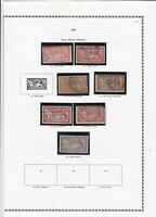 france 1900 stamps page ref 19854