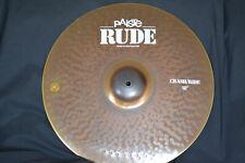 "Paiste Rude 18"" Crash / Ride - Fantastic Condition"