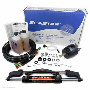 SeaStar HK6400A-3 16ft Hydraulic Outboard Steering HO5116 HK6316A-3 Kit Teleflex