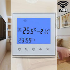 Programmable WiFi Wireless Heating Thermostat Controller LCD Digital Display