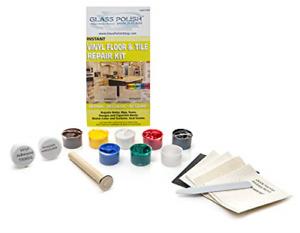 Glass Polish 91007 Diy Vinyl Floor And Vinyl Tile Repair Kit