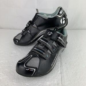 Women's Bontrager Solstice Bike Cycling Black Spin Shoes Size 10.5 US EU 42