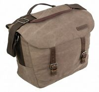 CANVAS cotton SATCHEL LAPTOP MESSENGER bag haversack army cotton Carlton