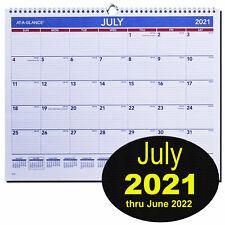 At A Glance Ay8 28 July 2021 Thru June 2022 Academic Wall Calendar 14 78x11 78