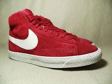 Nike BLAZER MID SUEDE PREMIUM Legacy Rosso Unisex Sneaker UK 6/EU 40
