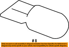 FORD OEM 12-16 Focus-Exterior Bulb BE8Z13466A