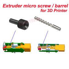 Pellet extruder DIY 3D Printer Parts feeding screw rod,heat break tube holder